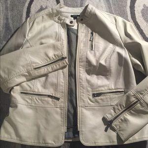 NWOT Apt.9 Faux Leather Jacket